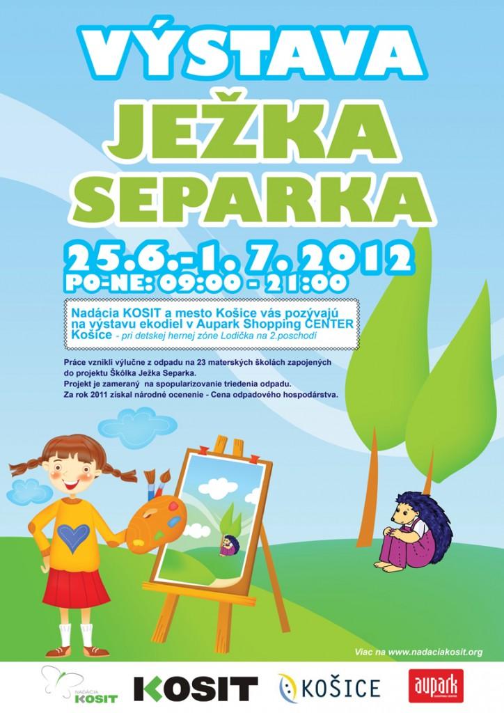 Výstava Ježka Separka Košice
